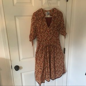 Anthropologie Edme & Esyllte retro dress